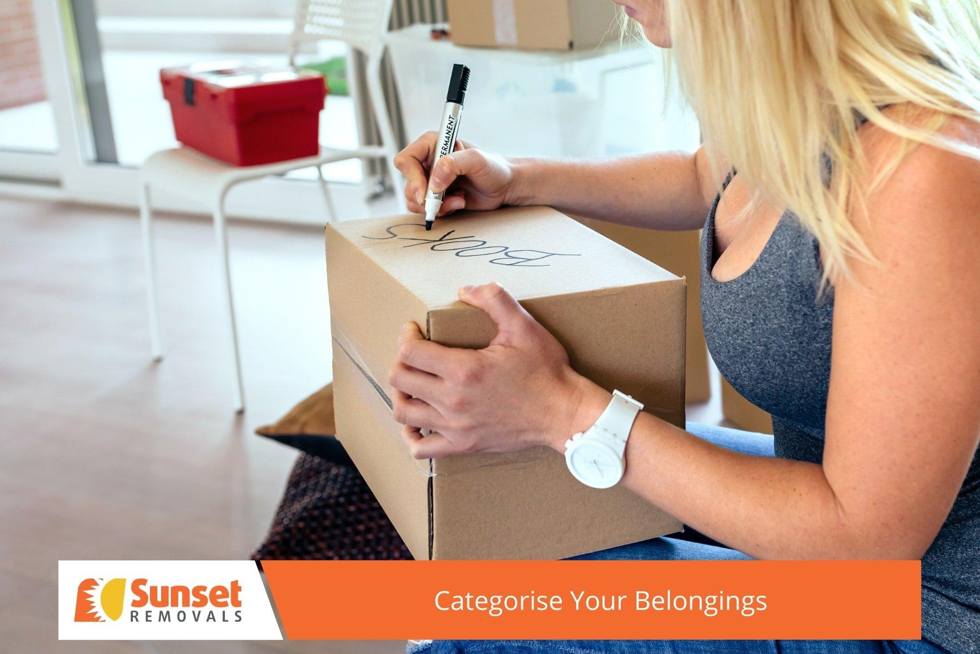 Categorise Your Belongings