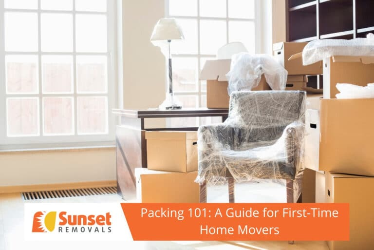 Packing 101- A Guide for First-Time Home Movers