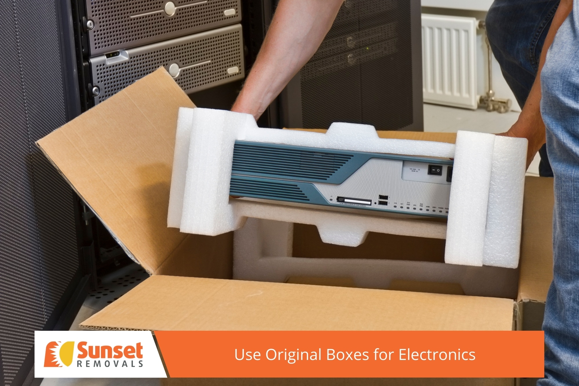 Use Original Boxes for Electronics