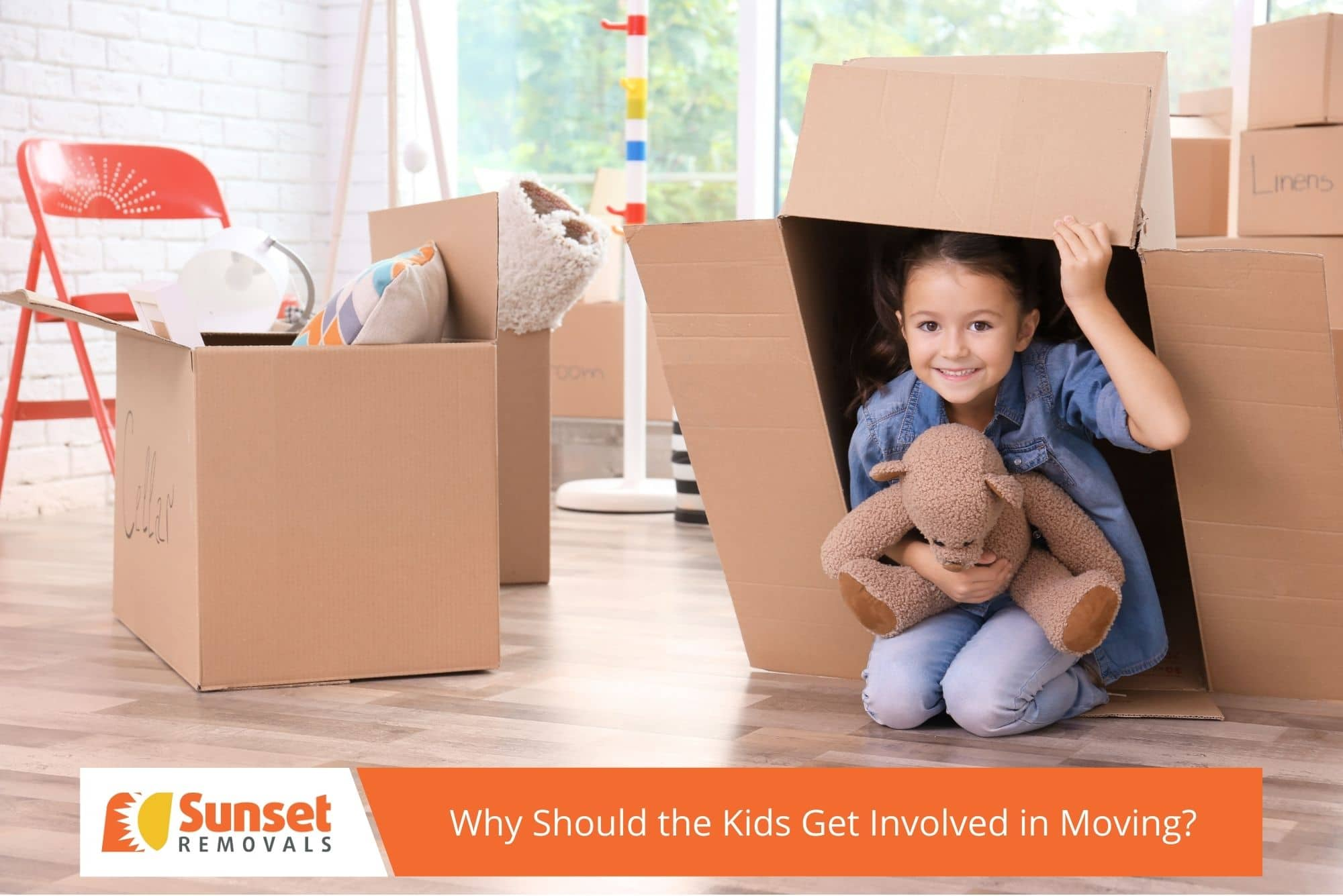 Why Should the Kids Get Involved in Moving?