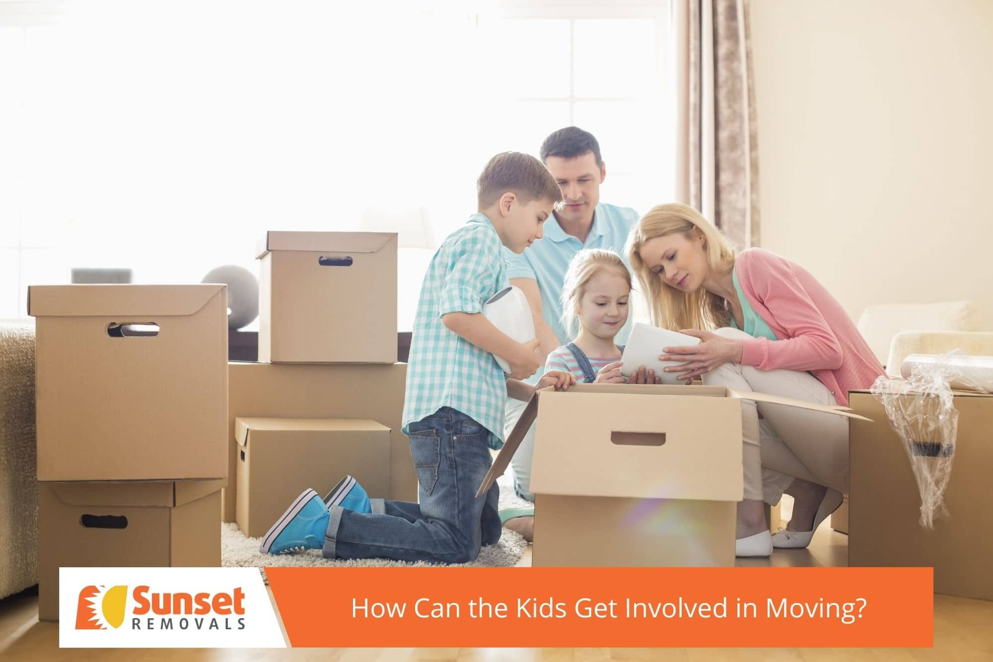 How Can the Kids Get Involved in Moving?