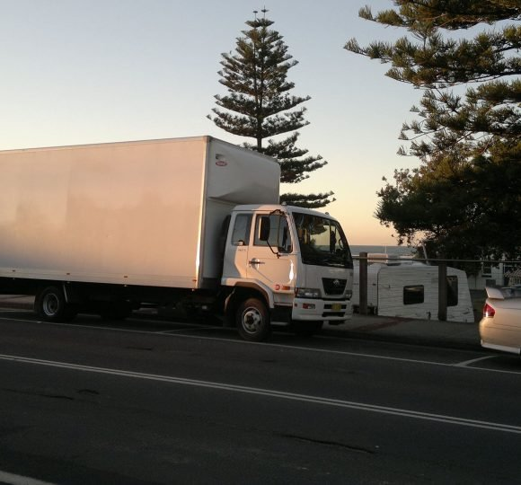 Wollongong to/from Newcastle Backloading - Sunset Removal