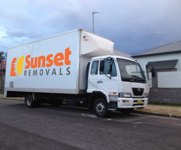Shipping Container Storage - Sunset Removals Newcastle